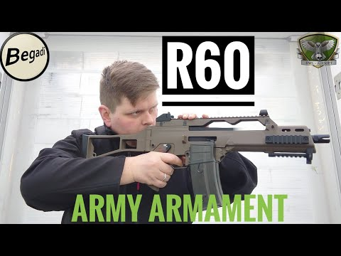 Army Armament R60 GBB Review