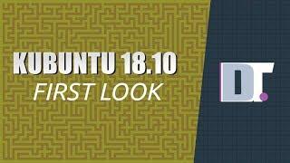 "Kubuntu 18.10 ""Cosmic Cuttlefish"" Installation and First Look"