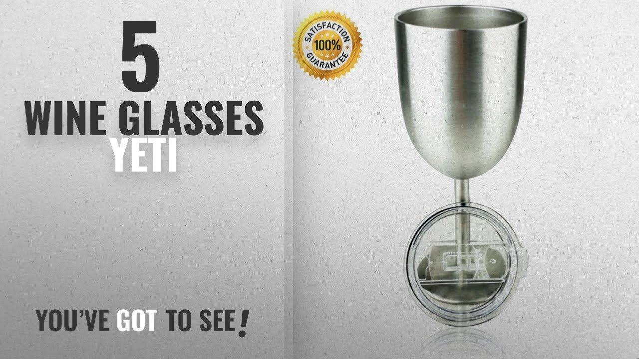 686875b2fe53 Best Wine Glasses Yeti [2018]: Stainless Steel Double Walled Wine ...