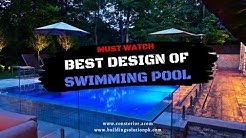 Best Swimming Pool Design - Inground Swimming Pool Construction Timelapse