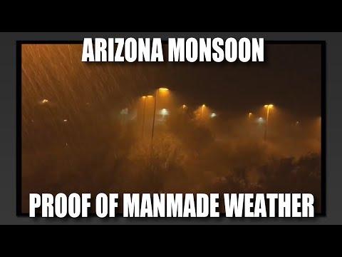 Arizona Monsoon: Proof of Manmade Weather