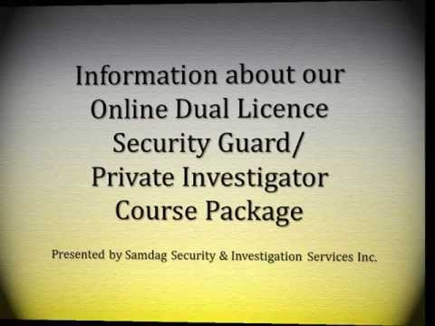 Information about our Online Dual Licence Course Package