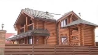видео Дома из бревна