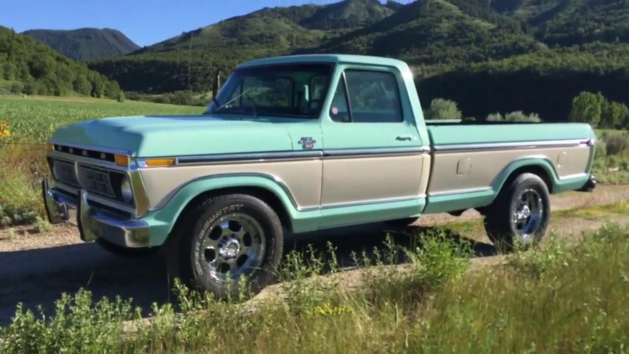 1977 ford f250 ranger xlt original 460 v8 motor frame up restore 8k paint 2k interior youtube