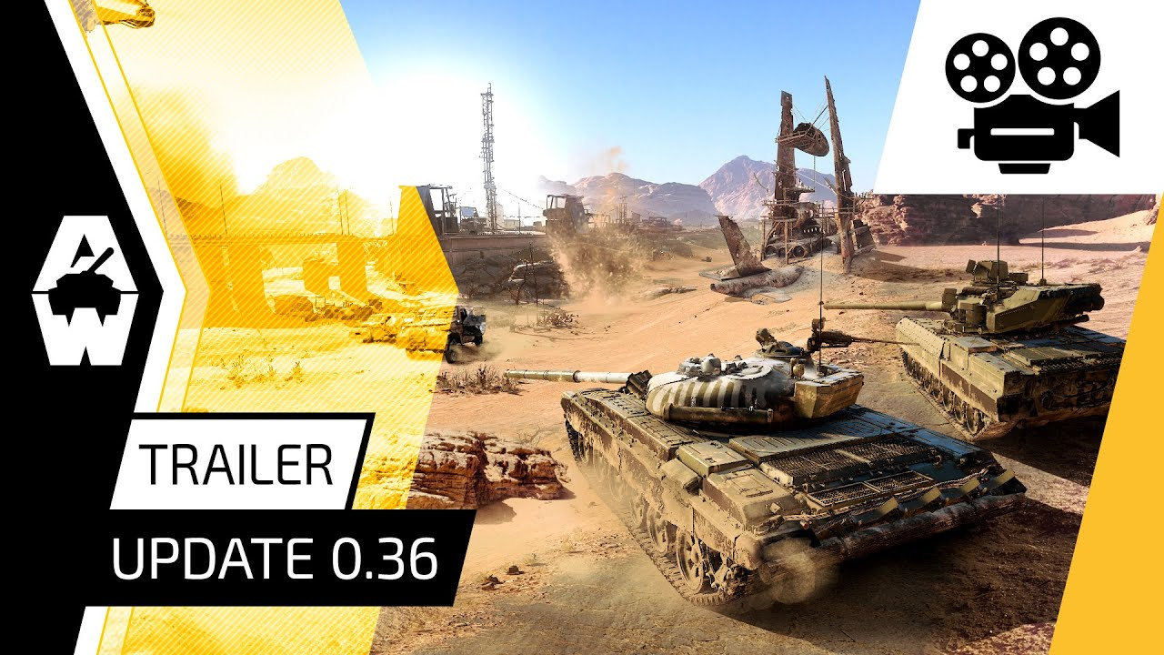 Armored Warfare - Update 0.36 Trailer
