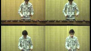 Zelda Theme Song on Marimba