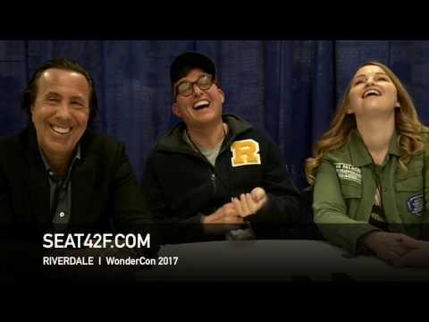 Riverdale WonderCon 2017 Interview Jon Goldwater, Roberto Aguirre-Sacasa, Sarah Schechter