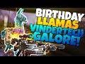 VINDERTECH Weapons GALORE! More BIRTHDAY LLAMAS! | Fortnite Save The World