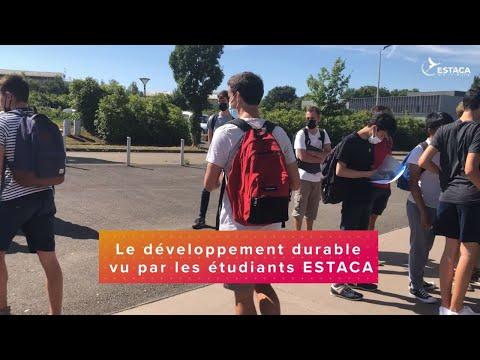 Le développement durable vu par les étudiants de l'ESTACA - 2021