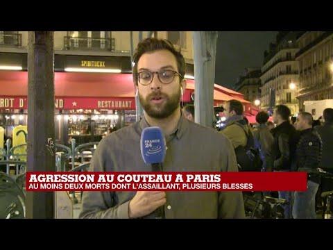 Attaque au couteau à Paris : une victime est décédée, l'assaillant abattu