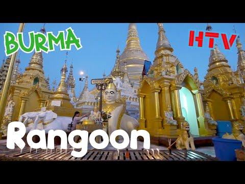 Rangoon Burma / Yangon Myanmar