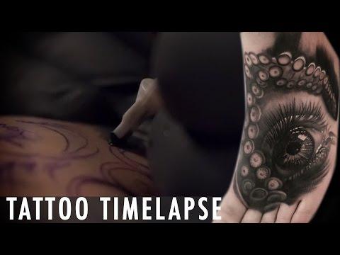 Tattoo Timelapse - Matt Jordan