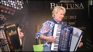 Christa Behnke and Pino Di Modugno play at 30° Anniversary of Beltuna