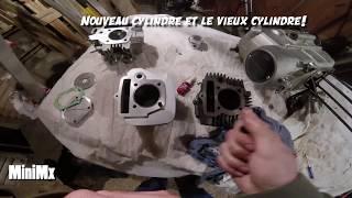 Remontage bas et haut moteur YCF (125YCF prépa)
