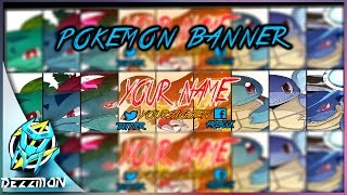 FREE YOUTUBE BANNER - POKEMON