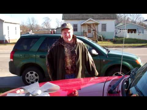 BOY TEARS UP WHEN DAD GIVE HIS SON A TRUCK FOR CHRISTMAS