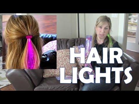 Glowbys fiber optic hair lights youtube pmusecretfo Images