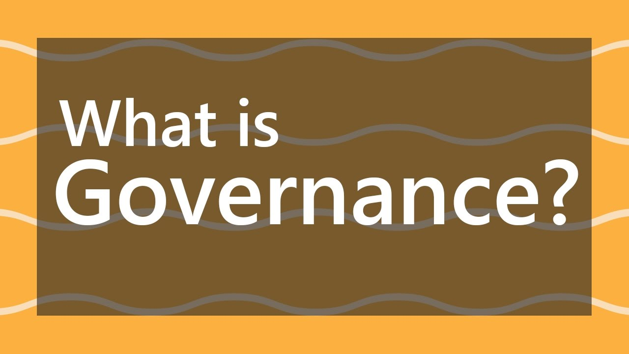 what is governance and corporate governance meaning & definition