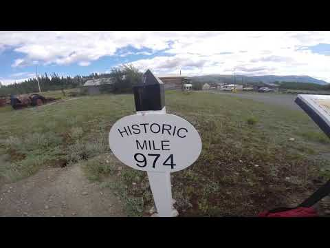Fairbanks Alaska To White Horse Yukon Canada