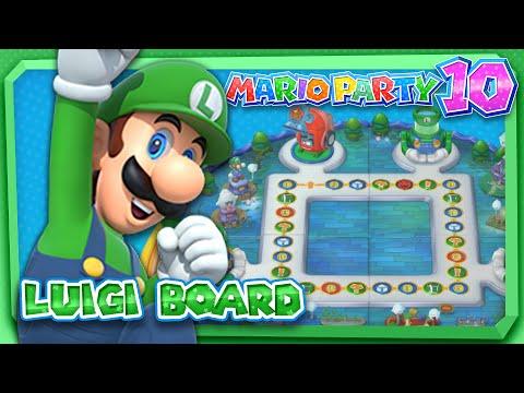 Mario party 10 luigi board 4 player amiibo party mode - Luigi mario party ...