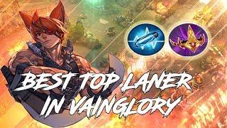 BEST TOP LANER IN VAINGLORY! **NEVER DIES** Vainglory 5v5 - CP Taka