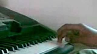 Gulabi Ankhein Playe by Zain Ul Abideen On Flute and Piano YAMAHA PSR350 Okara Punjab Pakistan.3gp