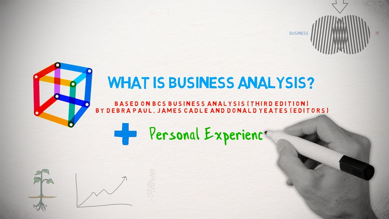What Is Business Analysis?   ANIMATED SKETCH Based On BCS And Personal  Experience