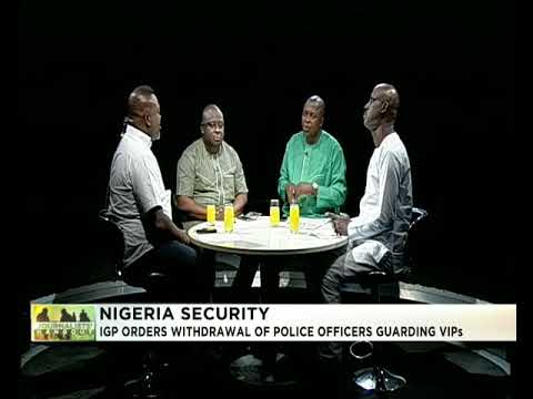 Journalists' Hangout 20th March 2018 | IGP orders withdrawal of Policemen from VIPs