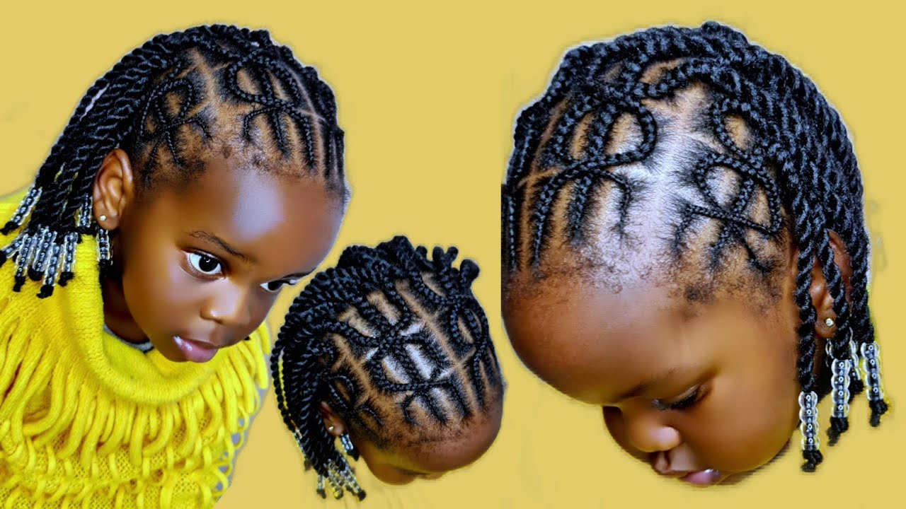 Download Criss cross cornrows || Simple style for kids @JOYCE ARTS #crisscrossed #begginers