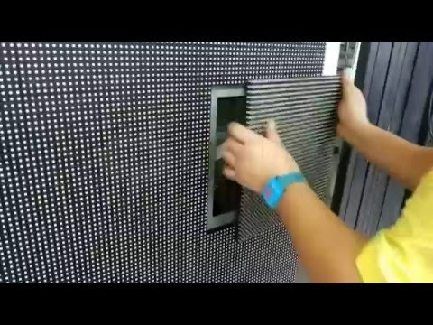 P8 outdoor SMD LED Display Screen front Service