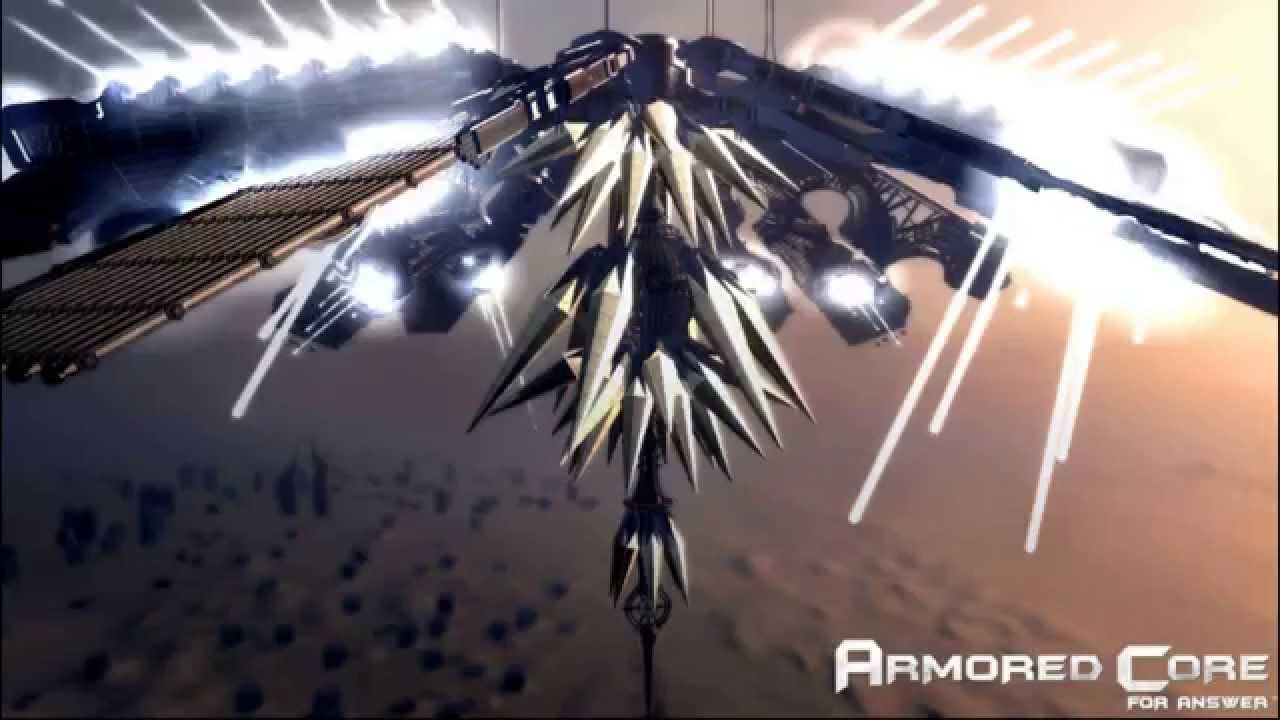 Epic Game Music Armored Core 4 Answer Spirit Of Motherwill Youtube