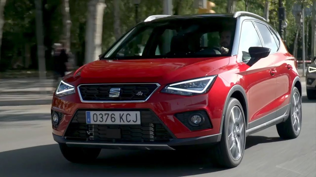 2018 seat arona fr driving interior exterior youtube. Black Bedroom Furniture Sets. Home Design Ideas