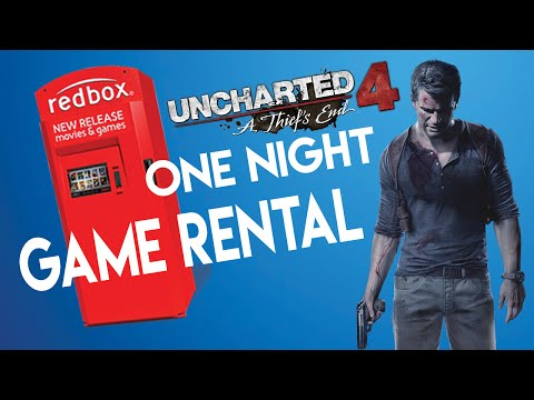 Uncharted 4 Redbox One Night Game Rental (Is it worth buying? Initial thoughts)
