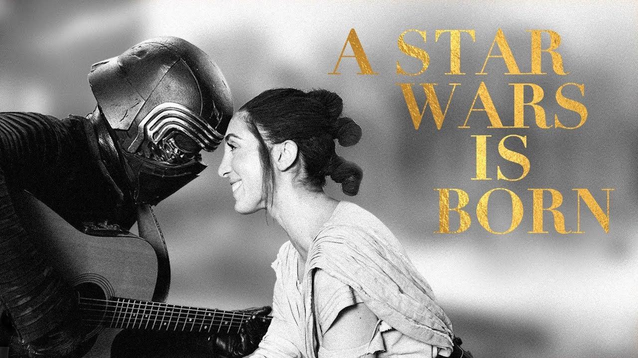 "A Star Wars Is Born – ""Shallow"" Parody (Nerdist Presents) на youtube"