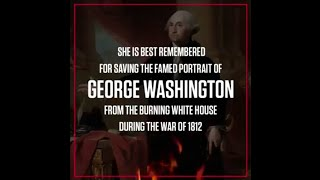 When the British burned down the White House during the War of 1812, By History Channel