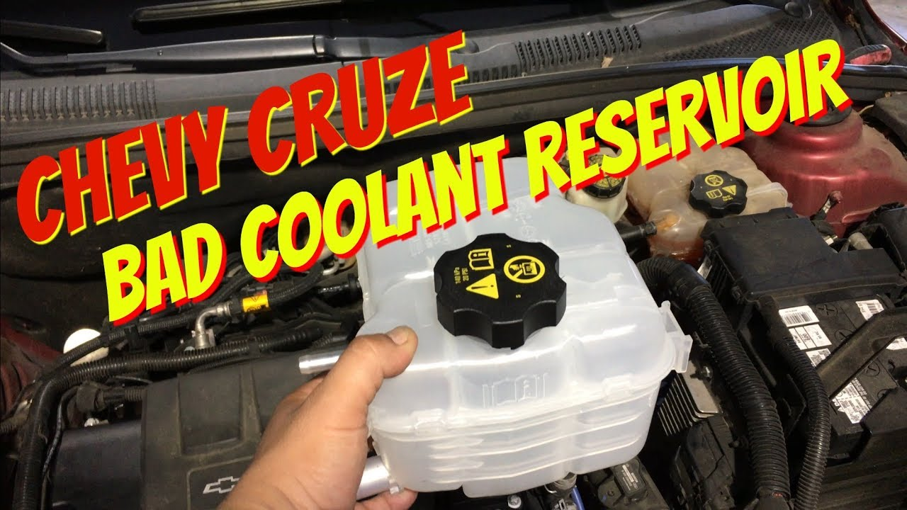 Chevy Cruze Coolant Overflow Tank Replacement Reservoir