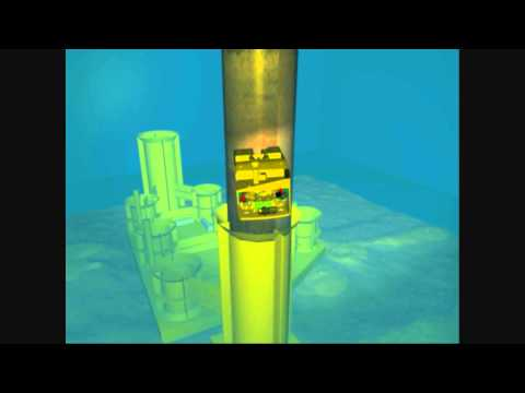 Savante Subsea and Underwater Lasers: 3D animation illustrating pile installation QA/QC