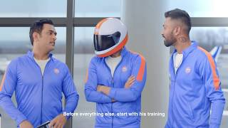 #CheerWithPride with MS Dhoni, Mr. Pride and Hardik Pandya