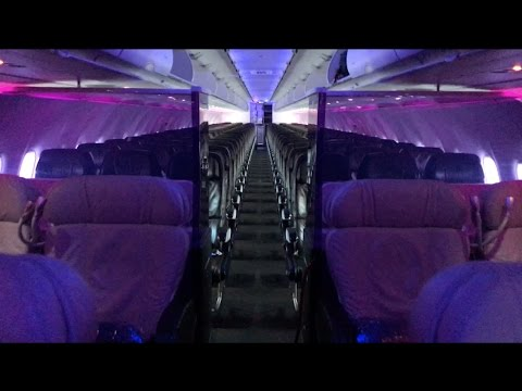 Virgin America A320 First Class Trip Report + Loft Overview