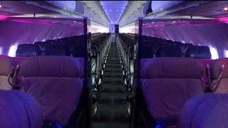 Virgin America A320 First Class Trip Report + Loft Overview