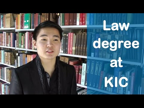 Preparing for a law degree at Kaplan International Colleges