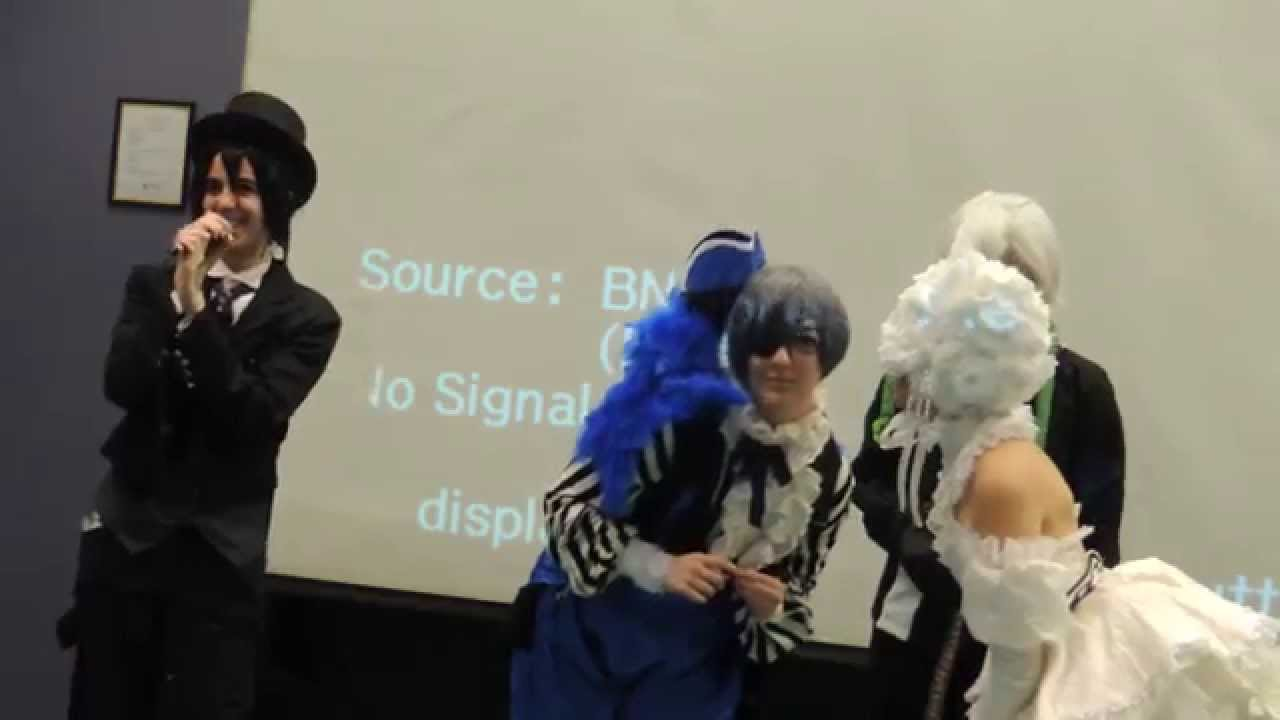 Monochrome Manor Presents Black ButlerBook Of Circus Panel Castle Point Anime Convention 2015 Part3