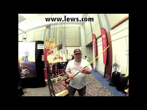 Mr Crappie Slab Shaker telescopic rod from Lew's - YouTube