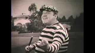 """Arthur Q. Bryan (Elmer Fudd) sings """"The Golfer"""