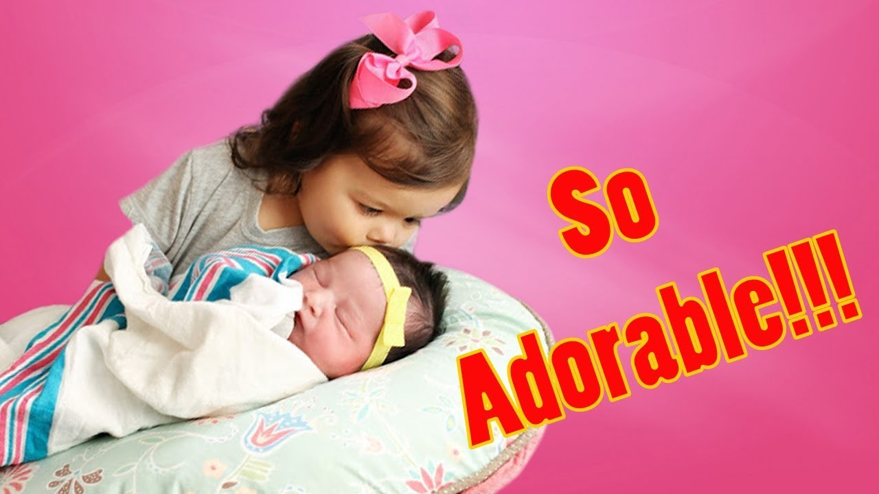Adorable Big Sister Sings To Sleeping Sibling Baby || Best Babies - MUST SEE!