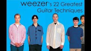 WEEZER's 22 Greatest Guitar Techniques!