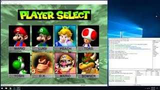 Mario Kart 64. Justase Vs. Vena  Monterrey Vs. ghoststeer (N64 kaillera netplay)