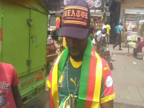 Ambiance avant finale Cameroun Égypte à Douala
