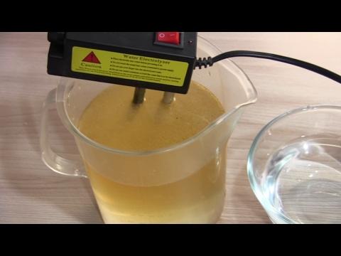 КАК проверить КАЧЕСТВО ВОДЫ/Эксперименты с водой.