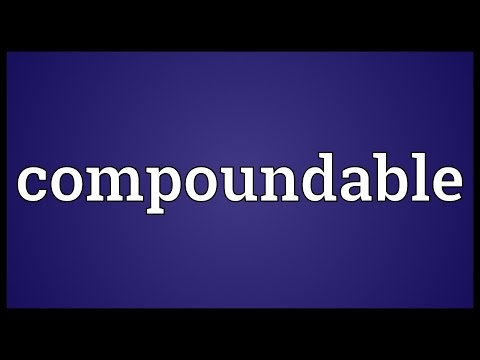 Header of compoundable